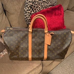 😍 LOUIS VUITTON KEEPALL 55 😍